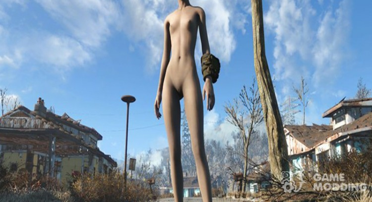 Nude and Alone для Fallout 4