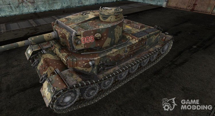 Skin for Pz. VI Tiger (P) for World Of Tanks