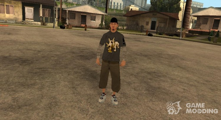 Change of character for GTA San Andreas