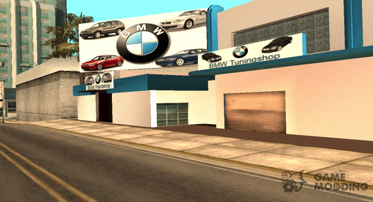 BMW tuning shop for GTA San Andreas