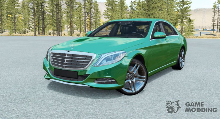 Mercedes-Benz S500 (W222) 2013 for BeamNG.Drive