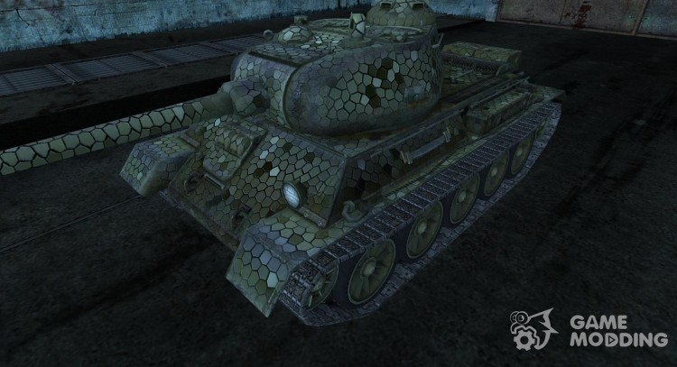Шкурка для Т-43 для World Of Tanks
