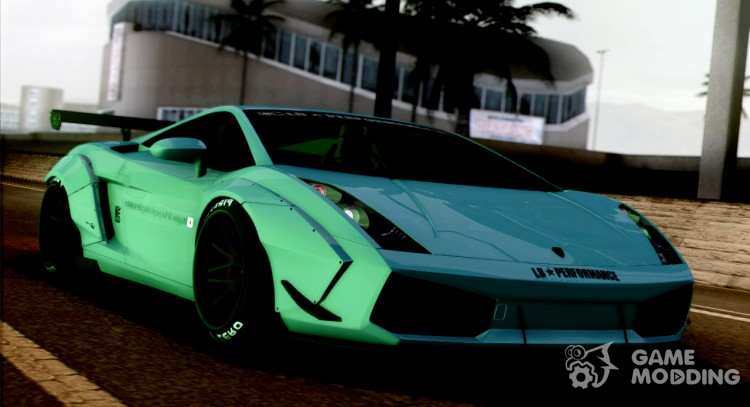2005 Lamborghini Gallardo Liberty Walk LB Performance for GTA San Andreas