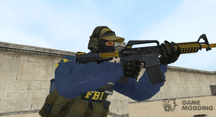 New FBI with CSGO Points for Counter-Strike Source