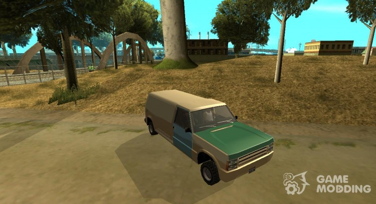 HunBurrito in style Clover car version by Vexillum for GTA San Andreas
