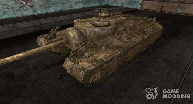 Skin for PT-Sau T95 No. 13 for World Of Tanks
