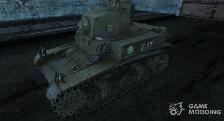 M3 Stuart Da7K для World Of Tanks