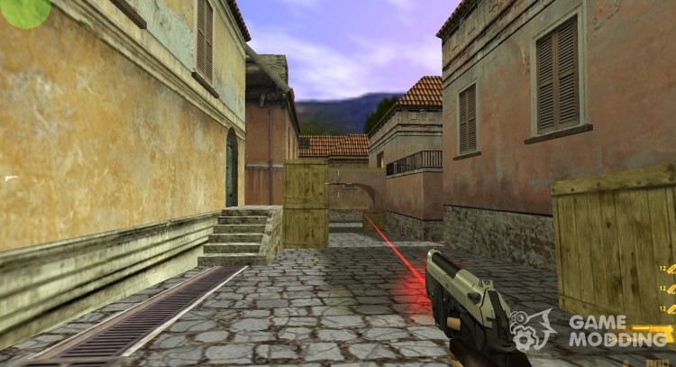 Beretta Elite With Laser Sight for Counter Strike 1 6