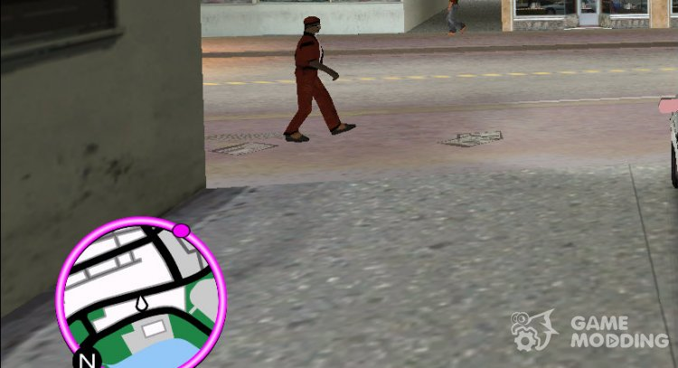 IV Blips for GTA Vice City