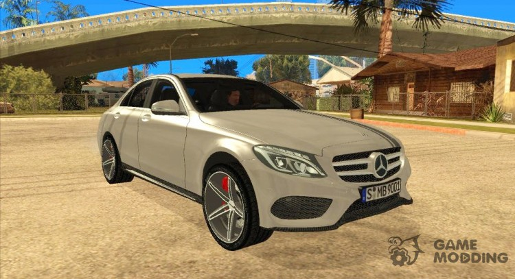 Mercedes-Benz C250 AMG Edition for GTA San Andreas