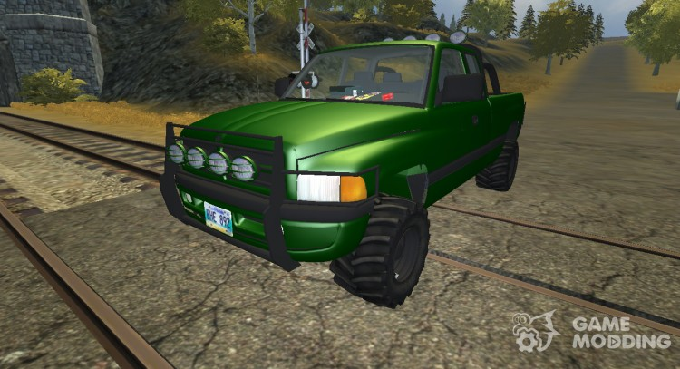 Dodge Ram 4 x 4 Forest for Farming Simulator 2013