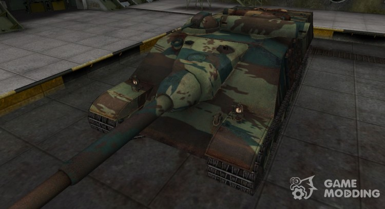 French new skin for the AMX 50 Foch for World Of Tanks