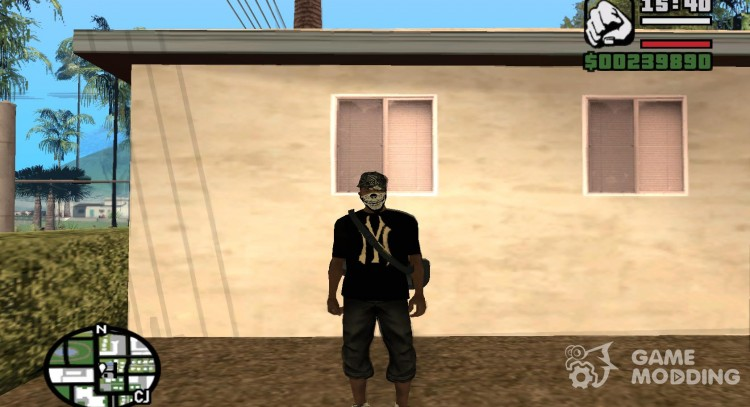 Pak fashion clothes for GTA San Andreas