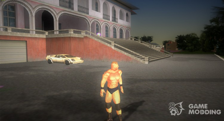 Brock Lesnar from Here Comes The Pain for GTA Vice City