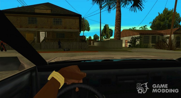 CLEO script: view from the cab without the NumPad for GTA San Andreas
