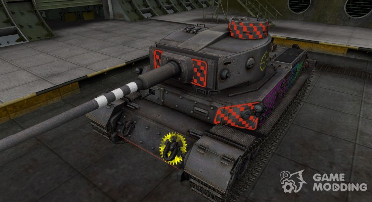 Quality of breaking through for PzKpfw VI Tiger (P) for World Of Tanks