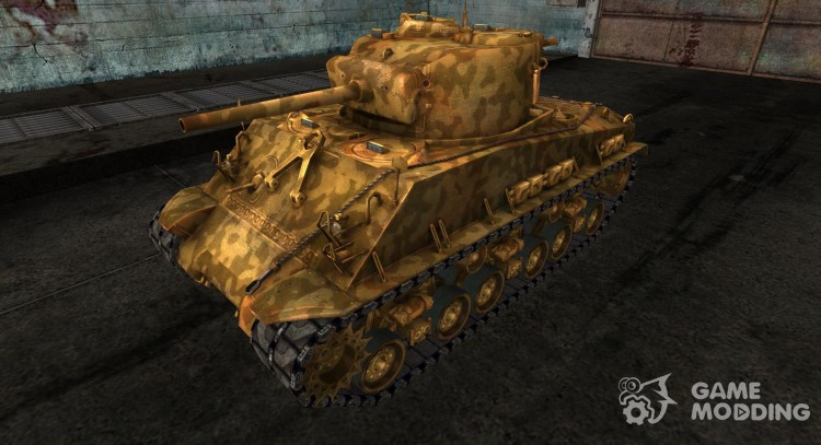 M4A3E8 Sherman Skin for no. 41 for World Of Tanks