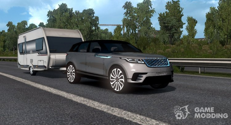 The Range Rover Velar for Euro Truck Simulator 2