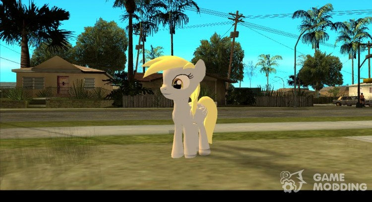 Derpy Hooves (My Little Pony) для GTA San Andreas