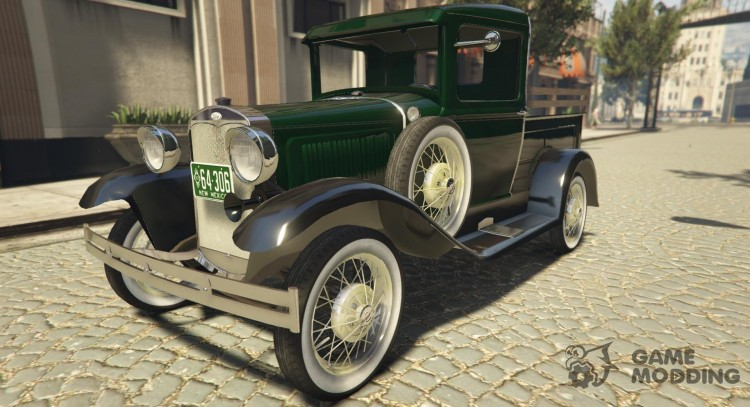 Ford A pick-up 1930 for GTA 5