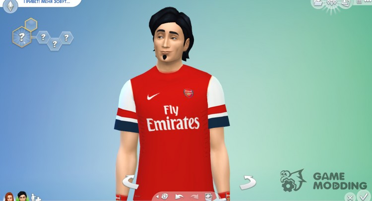 Form of FC Arsenal for Sims 4
