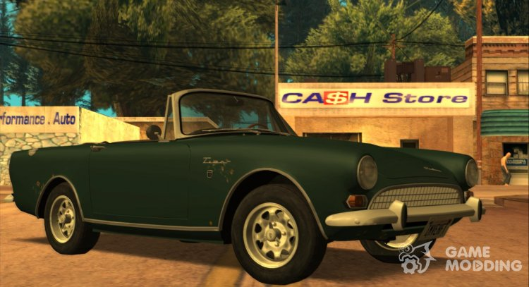 Sunbeam Tiger Mk.2 1967 (US-Spec) for GTA San Andreas