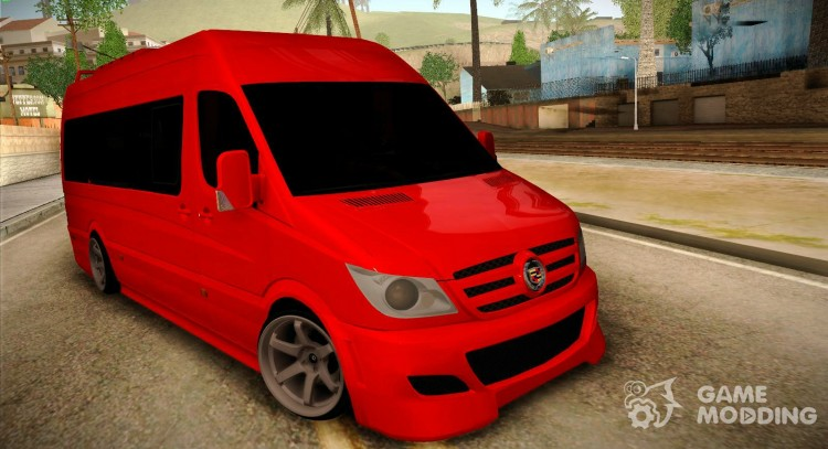 Mercedes-Benz Sprinter VIP for GTA San Andreas