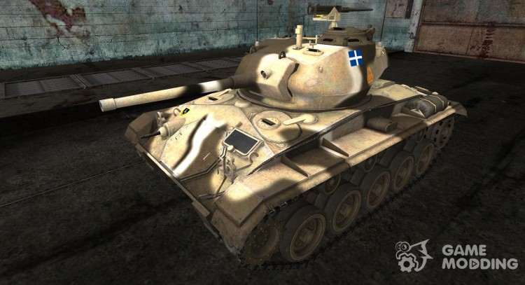 Skin for M24 Chaffee for World Of Tanks