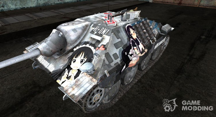 Anime skin for Hetzer for World Of Tanks