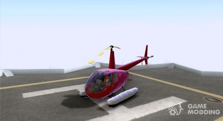 Robinson R44 Clipper II 1.0 for GTA San Andreas
