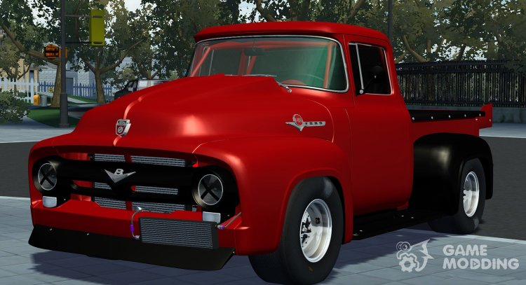 Ford F100 1956 for Street Legal Racing Redline