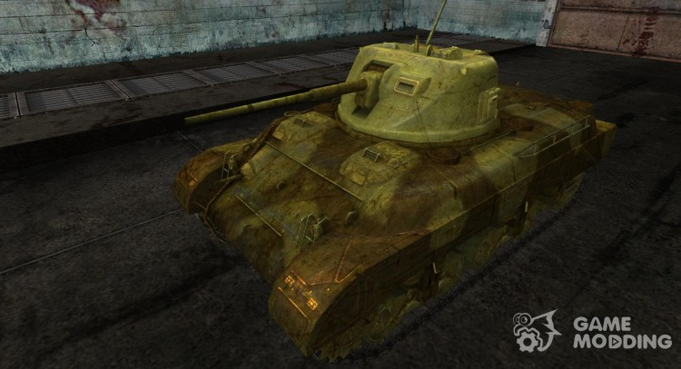 Skin for M7 Med for World Of Tanks