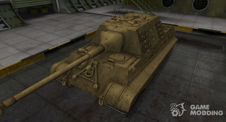 Desert tank skin 8.8 cm Pak 43 JagdTiger for World Of Tanks