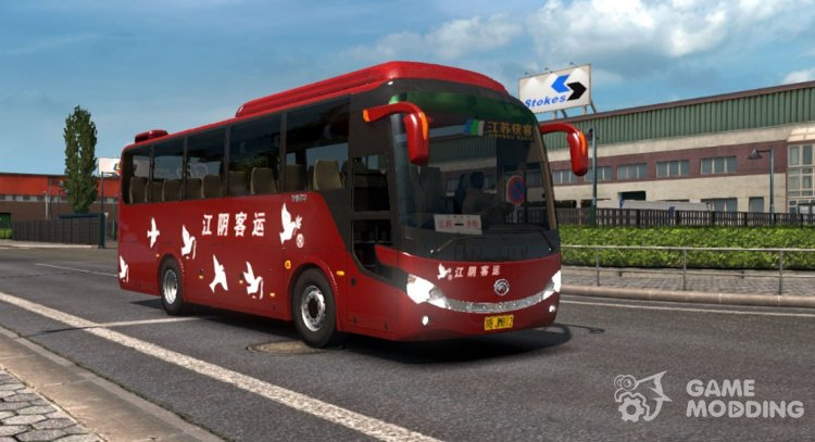 Yutong ZK6888H for Euro Truck Simulator 2
