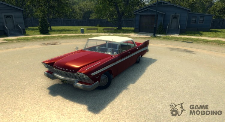 Plymouth Belvedere Sport Sedan 1957 for Mafia II