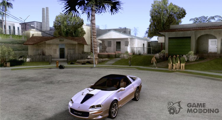 Chevrolet Camaro SS 2002 for GTA San Andreas