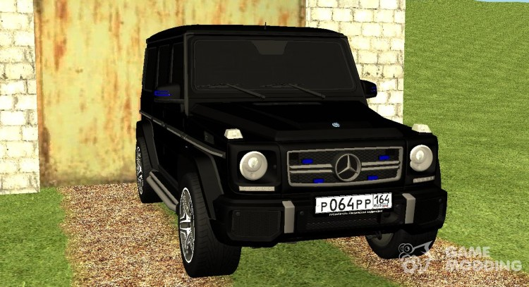 Mercedes-Benz AMG G65 for GTA San Andreas