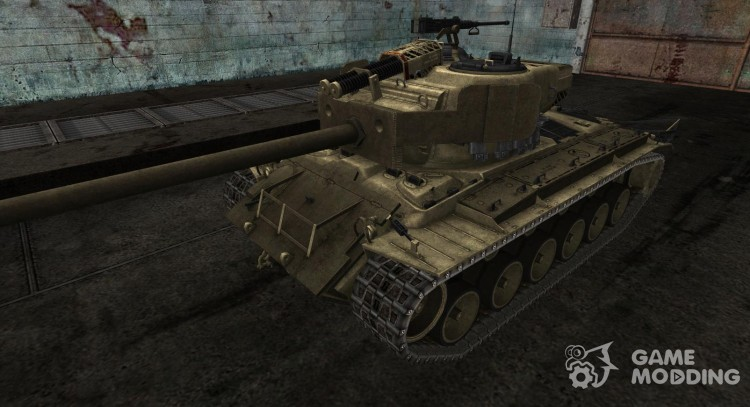 Skin for T26E4 SuperPerhing for World Of Tanks