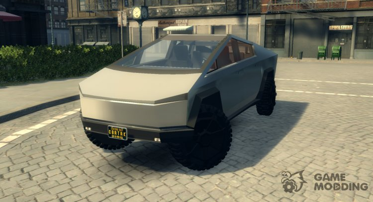 Tesla Cybertruck for Mafia II