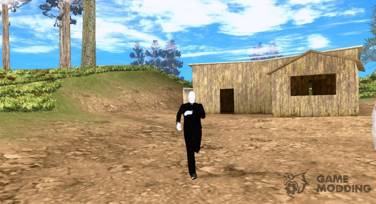 Slender man version 3 for GTA San Andreas