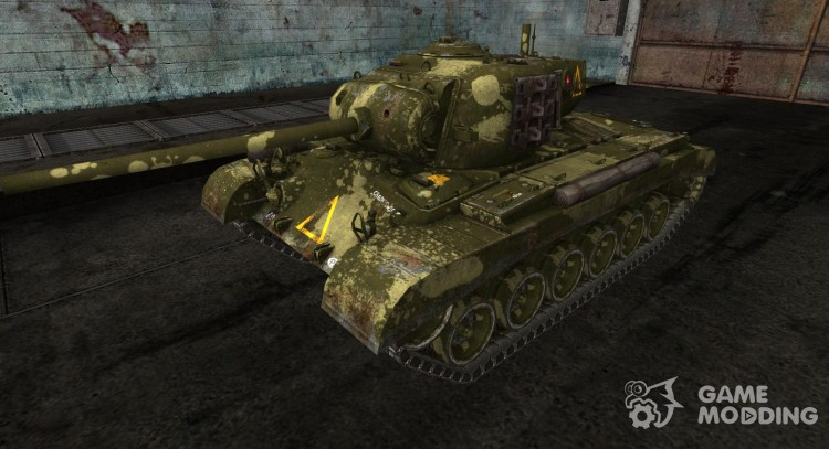 Skin for the M26 Pershing for World Of Tanks