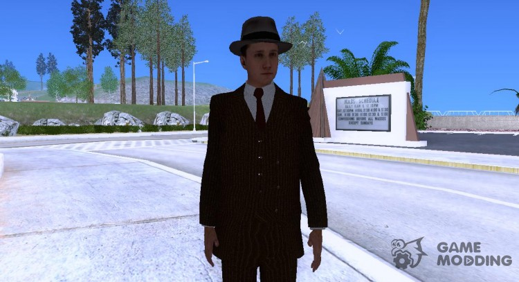 [L.a noire] Cole Phelps for GTA San Andreas