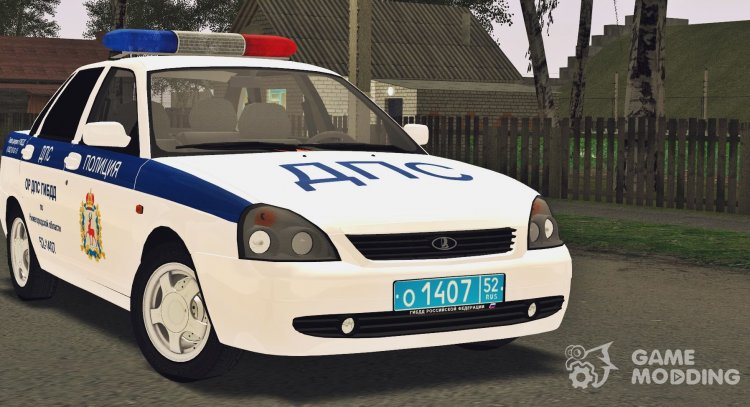 VAZ 2170 OR DPS traffic police for GTA San Andreas