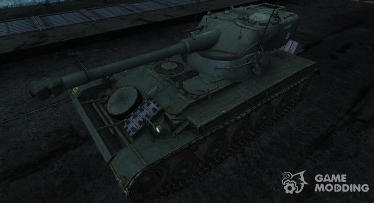 Skin for AMX 13 75 No. 6 for World Of Tanks