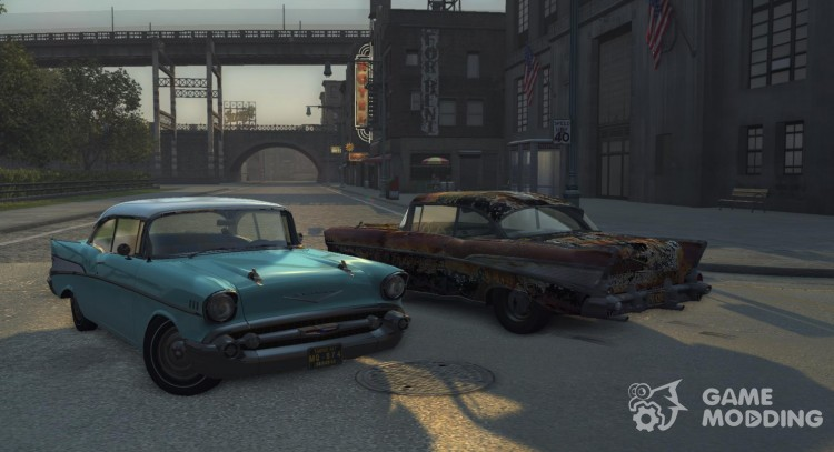 Chevrolet Bel Air 1957 for Mafia II