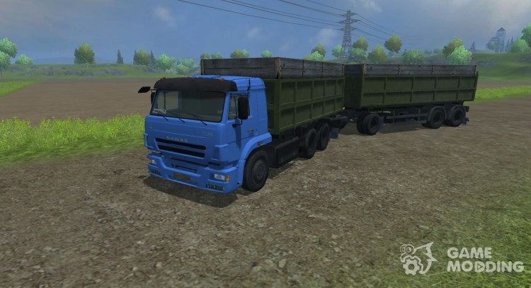 КамАЗ 420 Turbo для Farming Simulator 2013