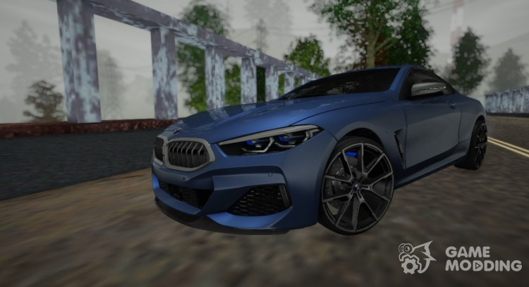 BMW 8-Series coupe M850i 2019 for GTA San Andreas