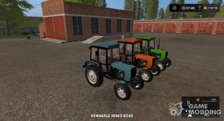 UMZ-8240 version 1.1 from 06.09.19 for Farming Simulator 2017