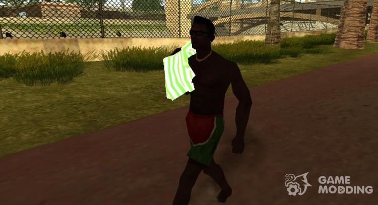 Realistic behavior of people v 2 0 for GTA San Andreas