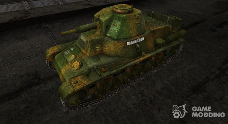 Skin for the Panzer 38H735 (f) for World Of Tanks